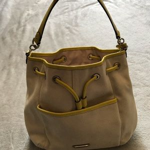 Coach drawstring purse